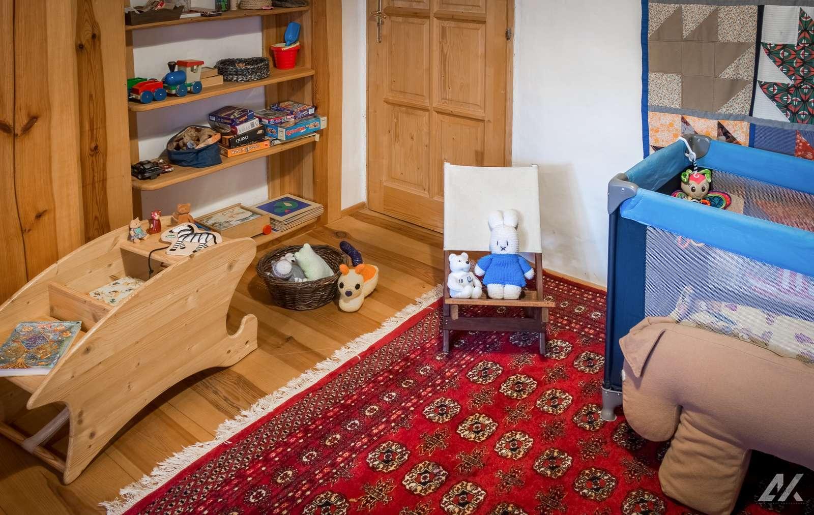 Kismélyvölgyi Vendégház - emeleti gyereksarok - apartman Pécs