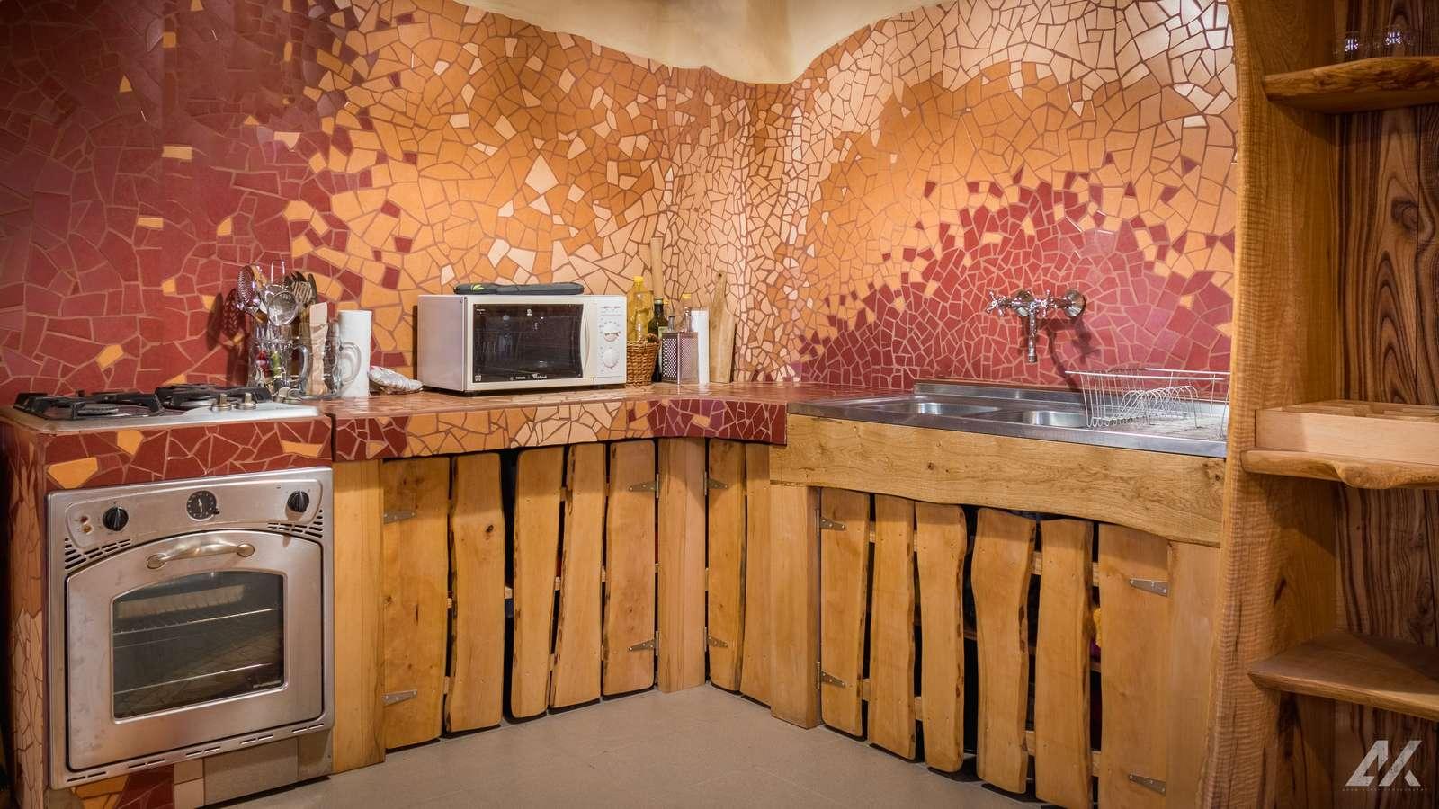 Kismélyvölgyi Vendégház - földszinti konyha - apartman Pécs