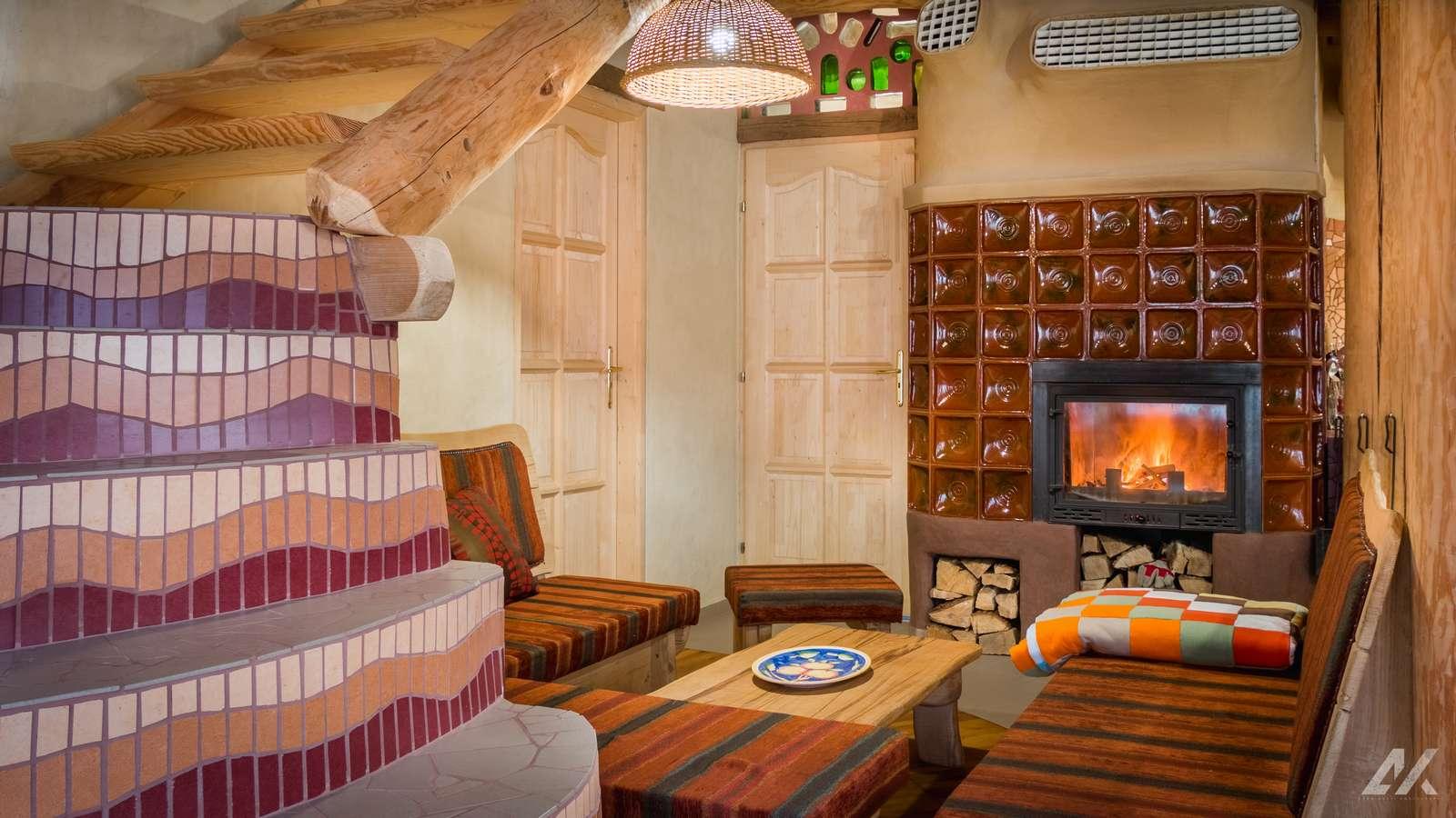 Kismélyvölgyi Vendégház - földszinti ülősarok - apartman Pécs