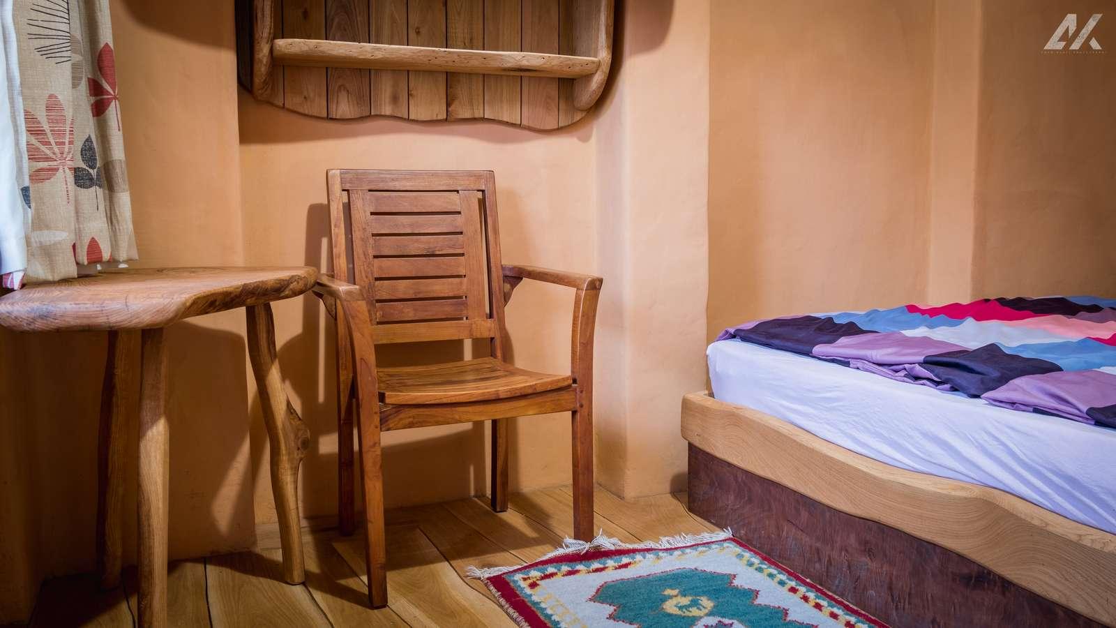 Kismélyvölgyi Vendégház - napos hálószoba a földszinten - apartman Pécs
