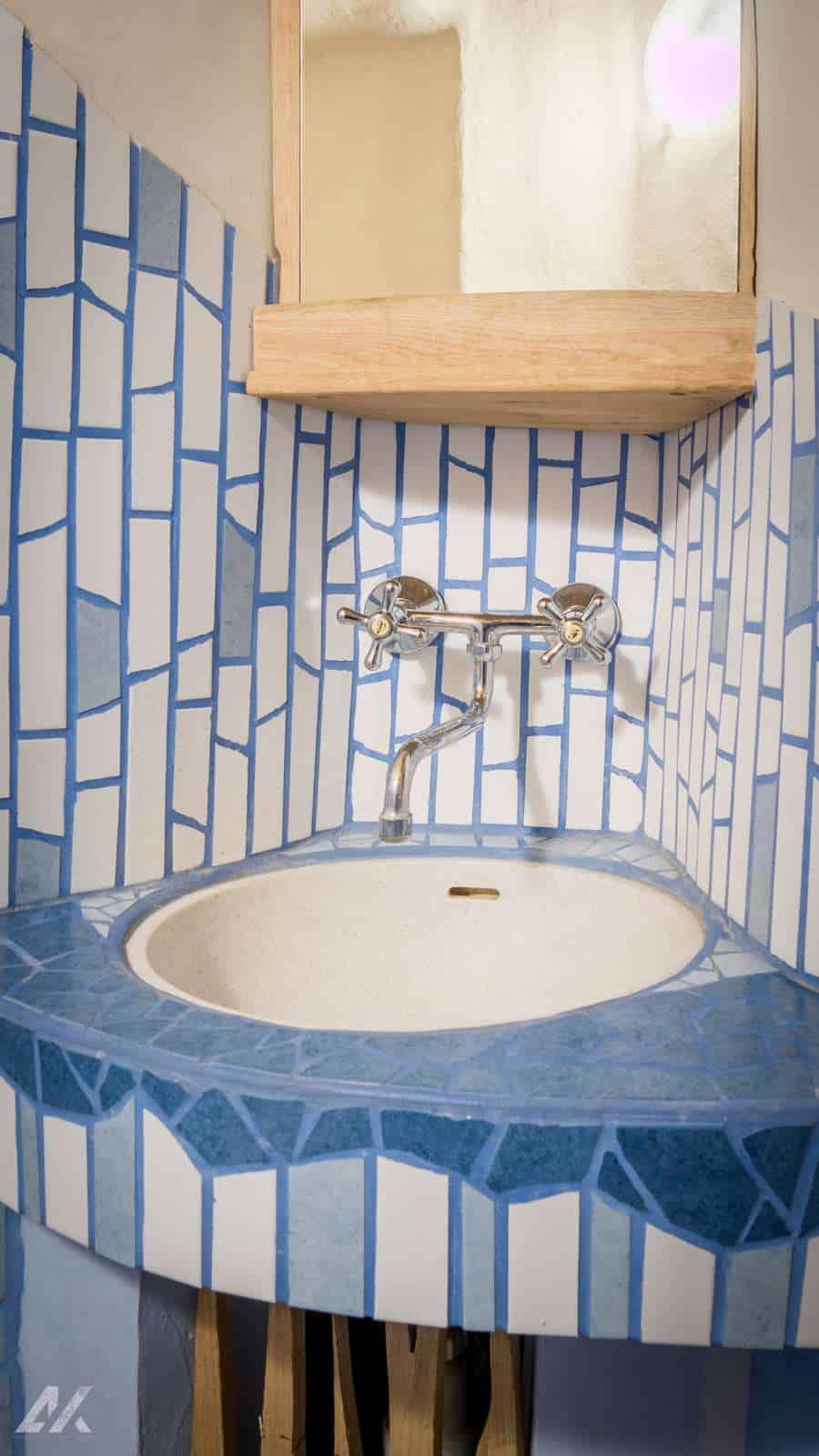 Kismélyvölgyi Vendégház - földszinti mosdópult - apartman Pécs
